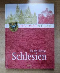 Tümmler, Holger (Hrg.)  Heimatatlas für die Provinz Schlesien.
