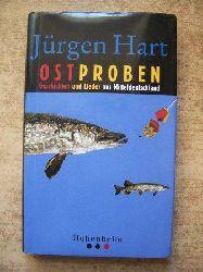 Hart, Jürgen  Ostproben - Geschichten und Lieder aus Mitteldeutschland.