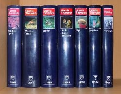 Urania Tierreich - Die große farbige Enzyklopädie. Wirbellose Tiere 1, Wirbellose Tiere 2, Insekten, Fische - Lurche - Kriechtiere, Vögel, Säugetiere, Tiergeographie.