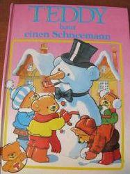 Teddy baut einen Schneemann
