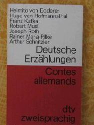 Hugo von Hofmannsthal (Autor), Rainer Maria Rilke (Autor), Arthur. Schnitzler (Autor) Deutsche Erzählungen II. Deutsch - Französisch. (Tb)
