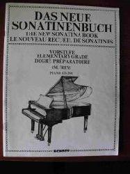 Frey, Martin  Das neue Sonatinenbuch. Sonatinen und Stücke für Klavier. Vorstufe