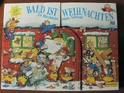 Peter Stevenson (Illustr.)/Gilian Chapman (Text)/Gisela Fischer (Übersetz.)  Bald ist Weihnachten. 24 Büchlein zum Advent