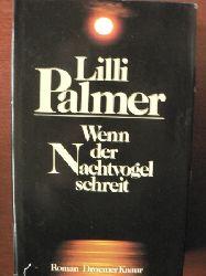 Palmer, Lilli Wenn der Nachtvogel schreit.