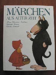 Andersen, Hans-Christian / Grimm, Jacob / Grimm, Wilhelm/Perrault, Charles/Lamigeon, Maryse & Pouyet, Marc (Illustr.) Märchen aus alter Zeit.