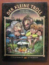Ingerlise Karlsen Kongsgaard (Autor)/Tor Age Bringsvaerd (Illustrator) Der kleine Troll - ein Bilderbuchmärchen (Die Abenteuer des kleine Trolls)