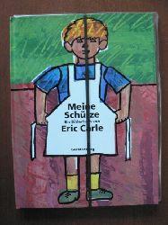 Eric Carle (Autor), Viktor Christen (Übersetzer)  Meine Schürze. Eine Geschichte aus meiner Kindheit . MIT LEINENSCHÜRZE