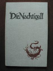Andersen, Hans Christian/Joachim Koelbel (Illustr.) Die Nachtigall. Ein Märchen, geschrieben und mit Papierschnitten illustriert von Joachim Koelbel Erstauflage?