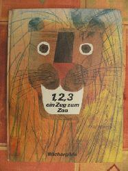Eric Carle 1,2,3 ein Zug zum Zoo Lizenzausgabe