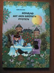 Anita Büscher Konrad mit den grünen Pfoten. Eine Katzengeschichte