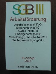 Sozialgesetzbuch (SGB) III. Arbeitsförderung.