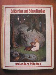 Brüder Grimm/Fr. Müller-Münster (Illustr.) Brüderchen und Schwesterchen und sieben andere Märchen der Brüder Grimm