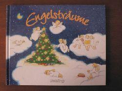 Elke Schuster (Autor), Margarete Scholtgssek (Illustrator)  Engelsträume. Ein Weihnachtsbuch mit Gedichten, Geschichten, Liedern mit Noten, Rätseln und Spielen, Basteleien und Rezepten