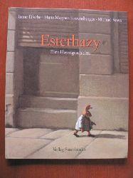 Dische, Irene/Enzensberger, Hans Magnus/Sowa, Michael (Illustr.)  Esterhazy. Eine Hasengeschichte