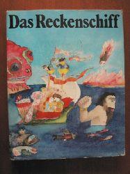 Gisela Neumann (Illustr.)/Marlene Milack (Übersetz.)/ Waltraud Ahrndt  (Hrsg.) Das Reckenschiff. Russische Volksmärchen 1. Auflage