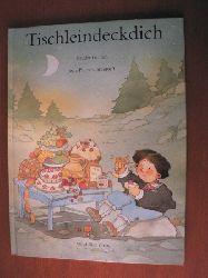 Grimm, Jacob/Grimm, Wilhelm/Corderoc`h, Jean-Pierre (Illustr.)  Tischleindeckdich - Goldesel und Knüppel aus dem Sack