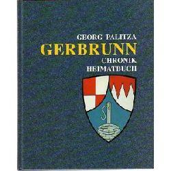 Georg Palitza Gerbrunn - Chronik, Heimatbuch