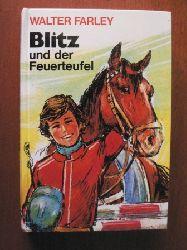 Walter Farley Blitz und der Feuerteufel Lizenzausgabe