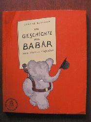 Brunhoff, Jean de Die Geschichte von Babar, dem kleinen Elefanten