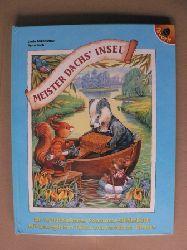 Birkinshaw, Linda/Koch, Petra (Übersetz.) Meister Dachs` Insel - Ein wunderschönes Panorama-Bilderbuch mit beweglichen Teilen und herrlichen Bildern