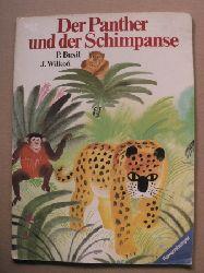 Buxil, P. (Text)/Wilkon, Józef (Illustr.)/Harries, Edith (Übersetz.) Der Panther und der Schimpanse 2. Auflage