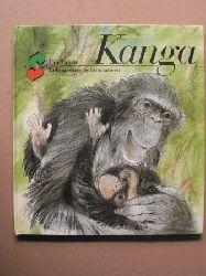 Ullrich, Ursula (Text)/Müller, Dieter (Illustr,.) Kanga - Ein Tag im Leben eines Schimpansen 3. Auflage