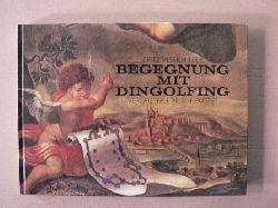Markmiller, Fritz  Begegnung mit Dingolfing. Texte und Ansichten aus fünf Jahrhunderten