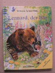 Julian-Ottie, Vanessa/Langreuter, Friedrich (Übersetz.) Lennard, der Bär. Mit Gucklöchern