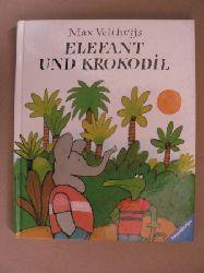 Velthuijs, Max Elefant und Krokodil. Eine Tiergeschichte