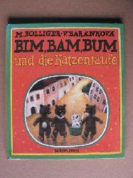Bolliger, Max/Baránková, Vlasta  (Illustr.) Bim, Bam, Bum und die Katzentaufe