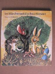 Rosemarie Hottenrott/Wolfgang Richter (Lieder)/Christamaria Fiedler (Gedichte)/Konrad Golz (Illustr.) Im Märchenwald ist heut Konzert. Eine Fernsehgeschichte für Kinder