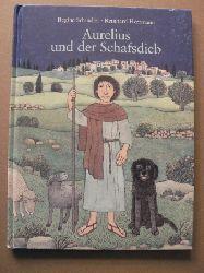 Reinhard Herrmann (Illustr.)/Regine Schindler  Aurelius und der Schafsdieb. Eine Weihnachtsgeschichte