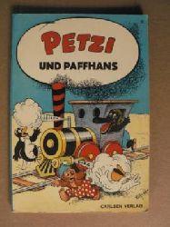 Hansen, Carla/Hansen, Vilhelm/Klump, Rasmus (Übersetz.) Petzi und Paffhans. Eine Bilderbuchgeschichte (Band Nr. 21) 5. Auflage