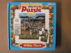 Mein buntes Puzzle-Buch: Wilde Tiere