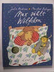 Andreae, Julia/Bofinger, Manfred (Illustr.) Max zählt Wölfchen