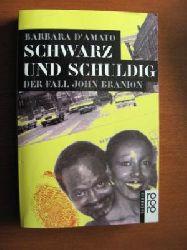 D`Amato, Barbara Schwarz und schuldig - Der Fall John Branion