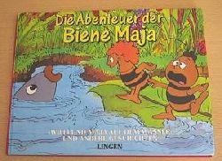 Almuth Link Die Abenteuer der Biene Maja. Willi und Maja auf dem Wasser und andere Geschichten