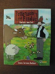 Pettersson und Findus Nr. 3  Tierisch `was los!  (lesen, lernen, lachen)