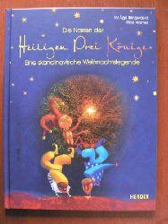 Tor Åge Bringsværd (Autor), Hilde Kramer (Illustr.)/Hergen Albrecht (Übersetz.) Die Narren der Heiligen Drei Könige. Eine skandinavische Weihnachtslegende