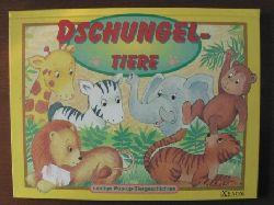 Dschungel- Tiere. Lustige Pop- Up- Tiergeschichten.