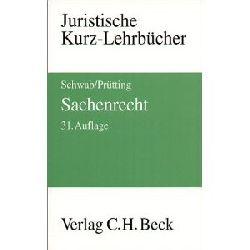 Prütting, Hanns/Schwab, Karl Heinz, Begr. von: Lent, Friedrich Sachenrecht.