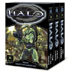 Nylund, Eric S./Dietz, William C. Halo: The Official Novels of the Award-Winning Xbox Game. The Fall of Reach/The Flood/First Strike