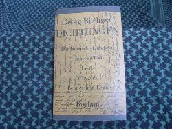 Büchner, Georg  Dichtungen