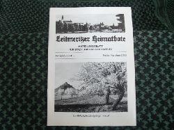 Leitmeritzer Heimatbote – Mitteilungsblatt für Stadt und Kreis Leitmeritz. Jahrgang 58/Nr.3. Mai/Juni 2006