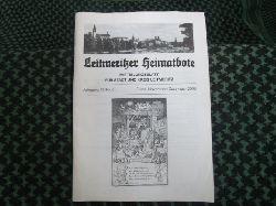 Leitmeritzer Heimatbote – Mitteilungsblatt für Stadt und Kreis Leitmeritz. Jahrgang 58/Nr.6. November/Dezember 2006
