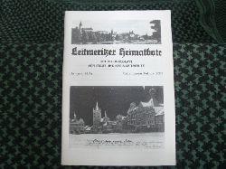 Leitmeritzer Heimatbote – Mitteilungsblatt für Stadt und Kreis Leitmeritz. Jahrgang 59/Nr.1. Januar/Februar 2007