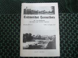Leitmeritzer Heimatbote – Mitteilungsblatt für Stadt und Kreis Leitmeritz. Jahrgang 58/Nr.4. Juli/August 2006