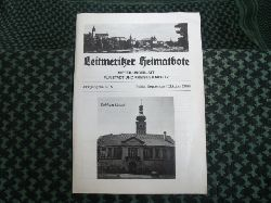 Leitmeritzer Heimatbote – Mitteilungsblatt für Stadt und Kreis Leitmeritz. Jahrgang 58/Nr.5. September/Oktober 2006