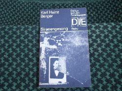 Berger, Karl Heinz  Sirenengesang