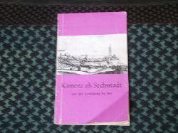 Scheller, Dr. Hans  Kamenz als Sechsstadt von der Gründung bis 1815